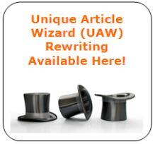 unique article wizard