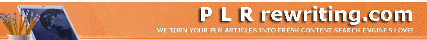 PLR rewriting banner